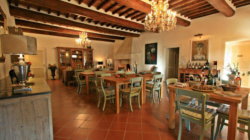 Historic building Villa Lavanda Tuscany Radicondoli 75