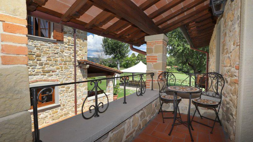 Hillside farmhouse Villa Romena Tuscany Poppi 108