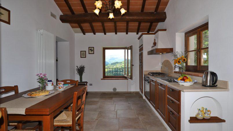 Hillside farmhouse Villa Romena Tuscany Poppi 109