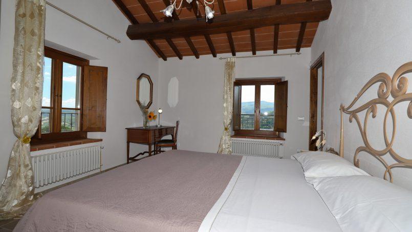 Hillside farmhouse Villa Romena Tuscany Poppi 112