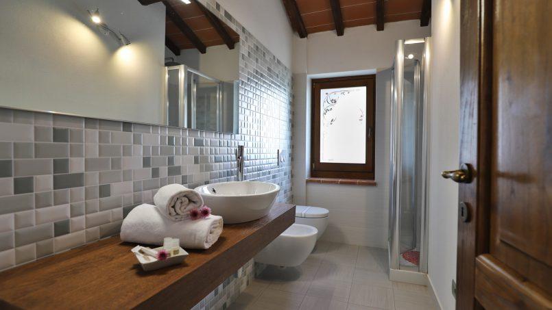 Hillside farmhouse Villa Romena Tuscany Poppi 113