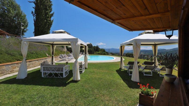 Hillside farmhouse Villa Romena Tuscany Poppi 15