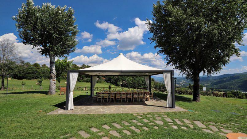 Hillside farmhouse Villa Romena Tuscany Poppi 38