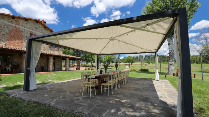 Hillside farmhouse Villa Romena Tuscany Poppi 40