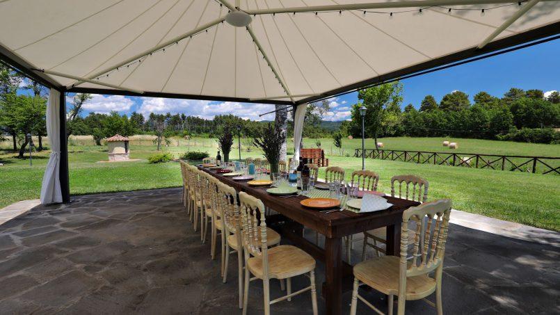 Hillside farmhouse Villa Romena Tuscany Poppi 41