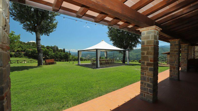 Hillside farmhouse Villa Romena Tuscany Poppi 49