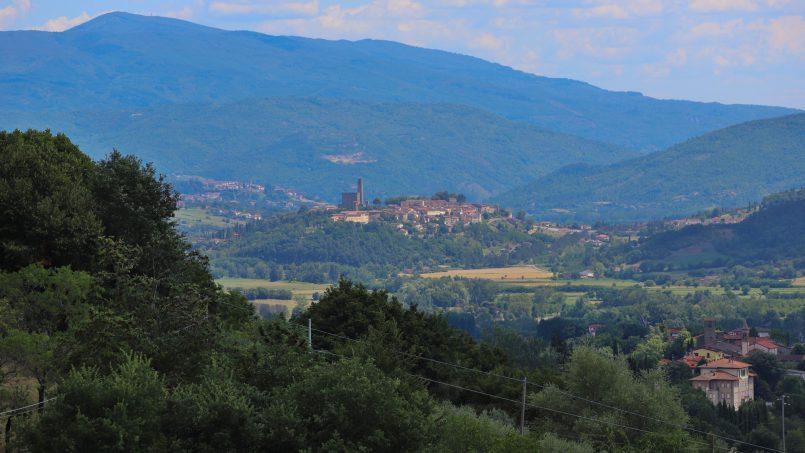 Hillside farmhouse Villa Romena Tuscany Poppi 56