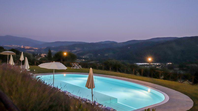 Hillside farmhouse Villa Romena Tuscany Poppi 57
