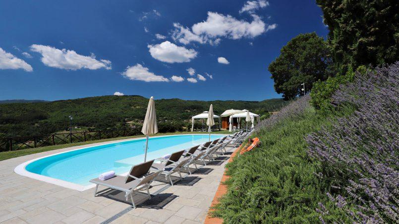 Hillside farmhouse Villa Romena Tuscany Poppi 6