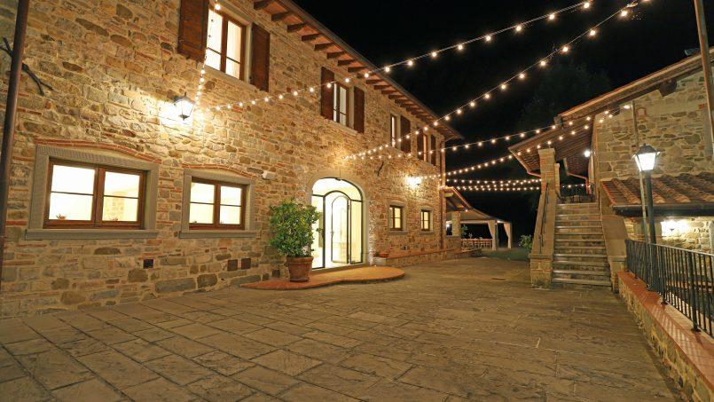 Hillside farmhouse Villa Romena Tuscany Poppi 65