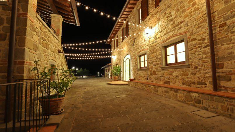 Hillside farmhouse Villa Romena Tuscany Poppi 66