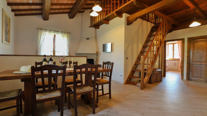Hillside farmhouse Villa Romena Tuscany Poppi 80