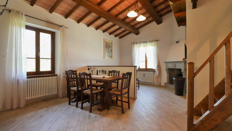 Hillside farmhouse Villa Romena Tuscany Poppi 81