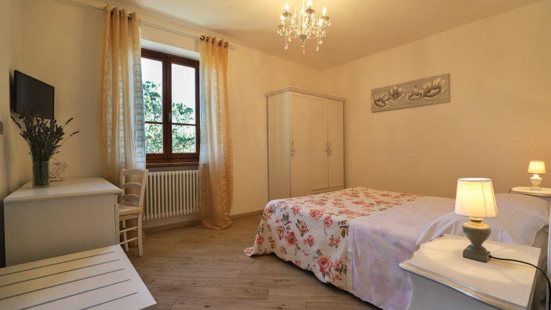 Hillside farmhouse Villa Romena Tuscany Poppi 95
