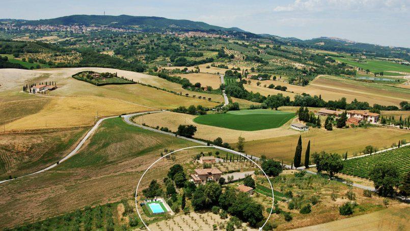 Ancient farmhouse Spinobianco Tuscany Chianciano 34