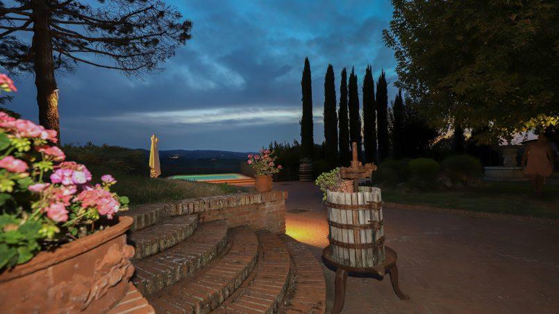 Detached Villa Tameriggio Tuscany San Gimignano 12