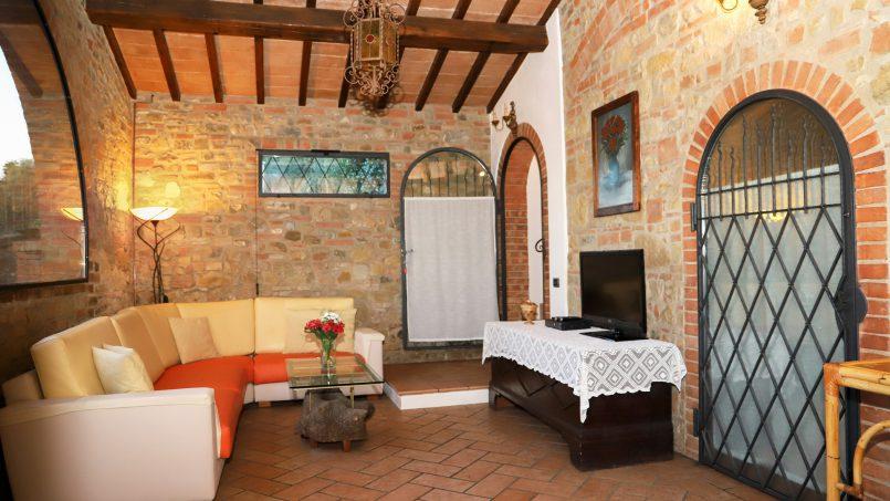 Detached Villa Tameriggio Tuscany San Gimignano 18