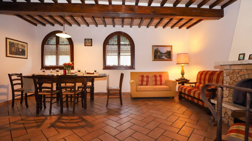 Detached Villa Tameriggio Tuscany San Gimignano 20