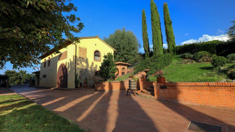 Detached Villa Tameriggio Tuscany San Gimignano 46