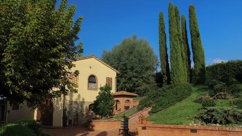 Detached Villa Tameriggio Tuscany San Gimignano 47