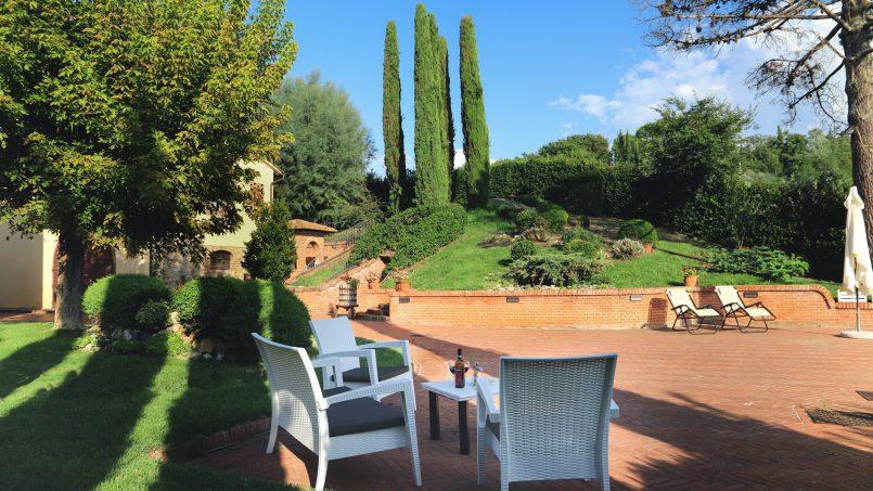 Detached Villa Tameriggio Tuscany San Gimignano 48