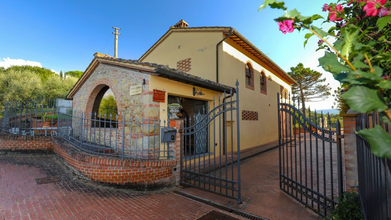 Detached Villa Tameriggio Tuscany San Gimignano 52