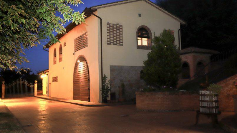 Detached Villa Tameriggio Tuscany San Gimignano 54