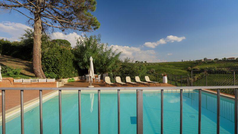 Detached Villa Tameriggio Tuscany San Gimignano 58