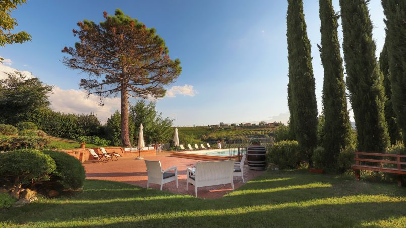Detached Villa Tameriggio Tuscany San Gimignano 59