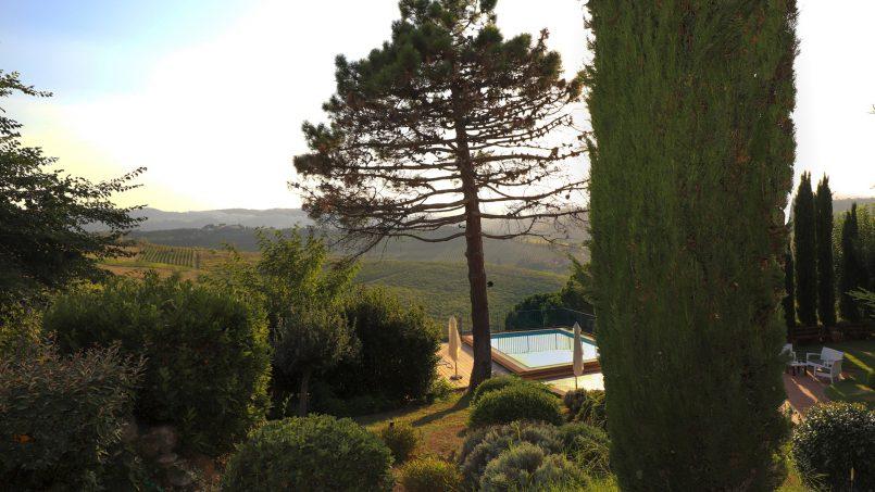 Detached Villa Tameriggio Tuscany San Gimignano 9