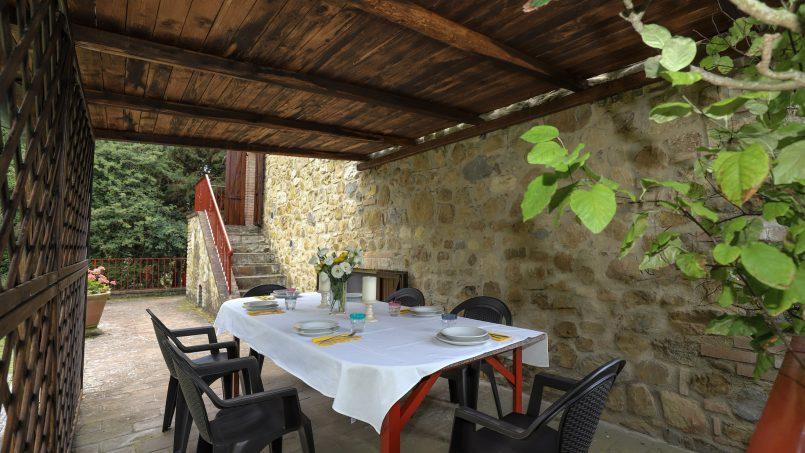 Hillside stone built La Ripa Tuscany Belforte 25