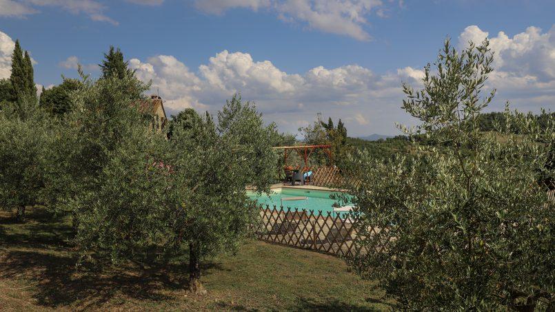 Hillside stone built La Ripa Tuscany Belforte 27