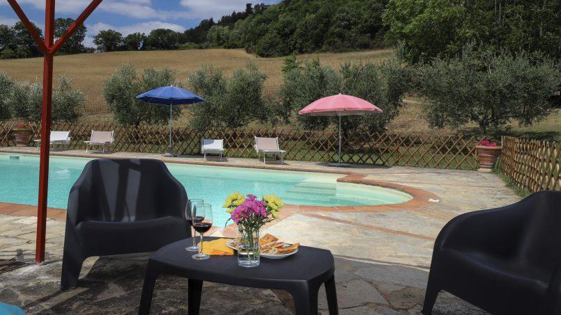 Hillside stone built La Ripa Tuscany Belforte 35