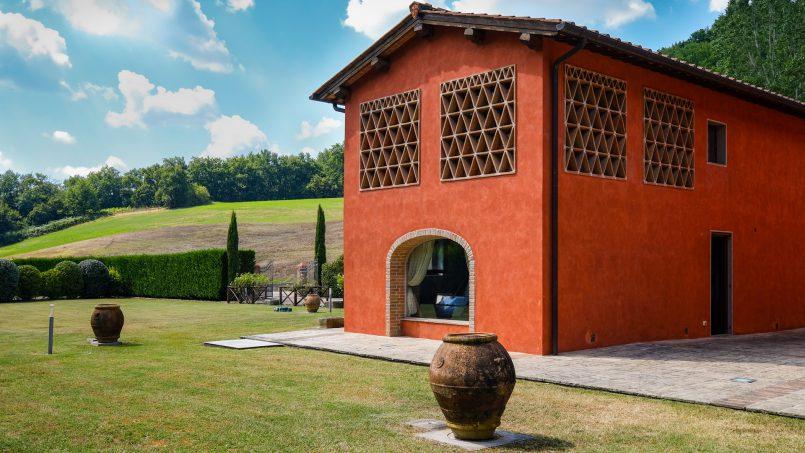 Hillside Villa Leccioli Tuscany Reggello 11