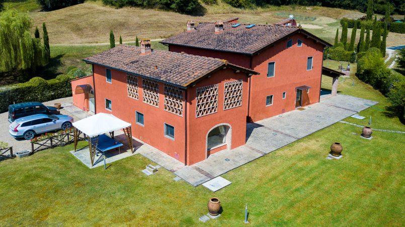 Hillside Villa Leccioli Tuscany Reggello 12