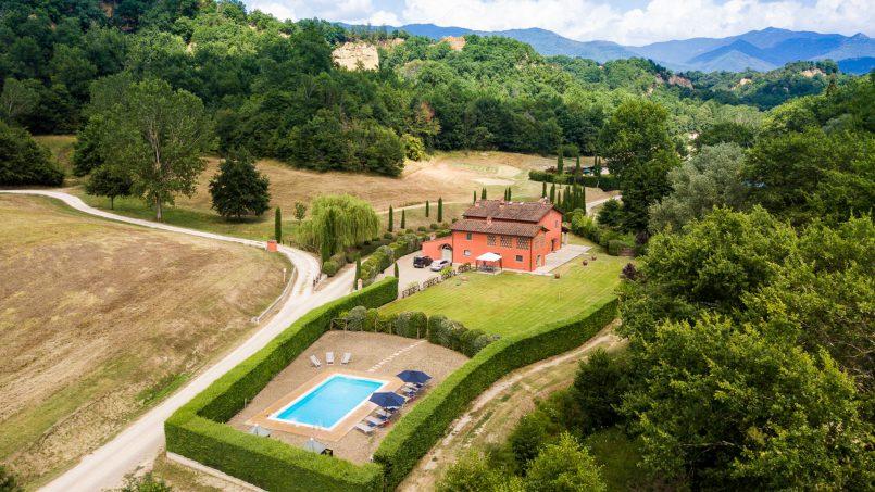 Hillside Villa Leccioli Tuscany Reggello 13