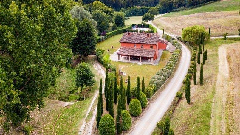 Hillside Villa Leccioli Tuscany Reggello 14