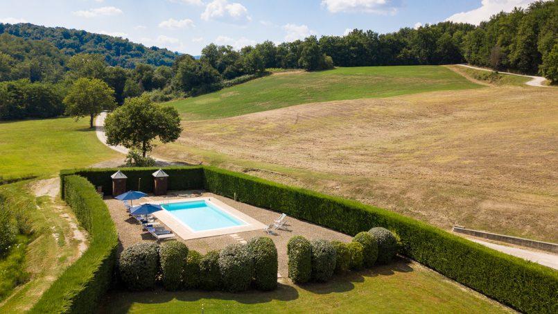 Hillside Villa Leccioli Tuscany Reggello 15