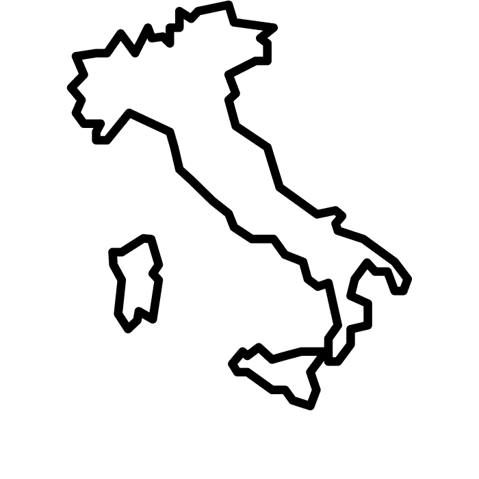 Italy by Andrejs Kirma from the Noun Project