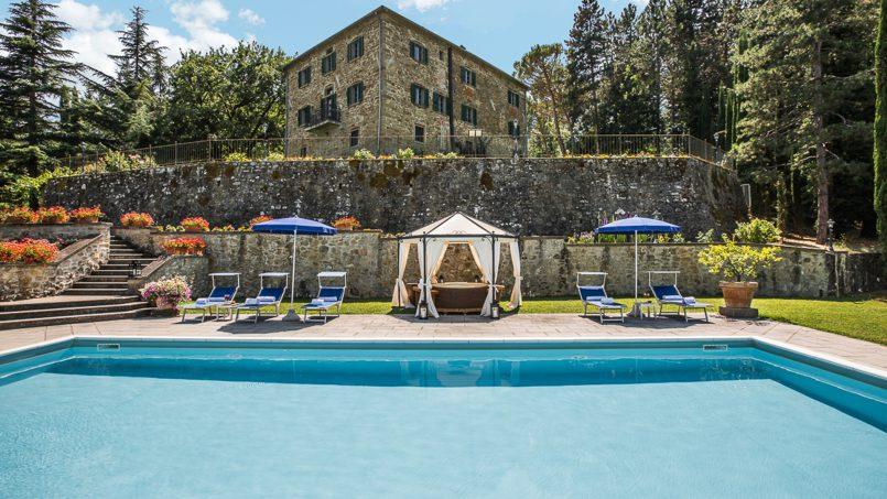 Tuscan luxury Villa Cerfone Monterchi Arezzo 13