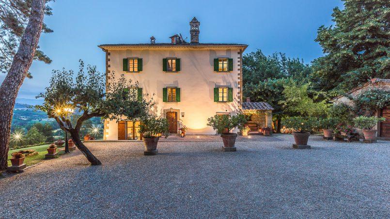 Tuscan luxury Villa Cerfone Monterchi Arezzo 17