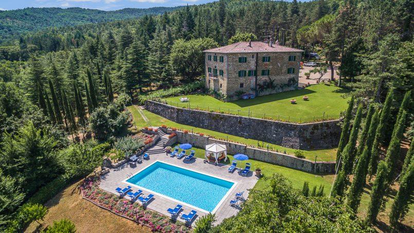 Tuscan luxury Villa Cerfone Monterchi Arezzo 2