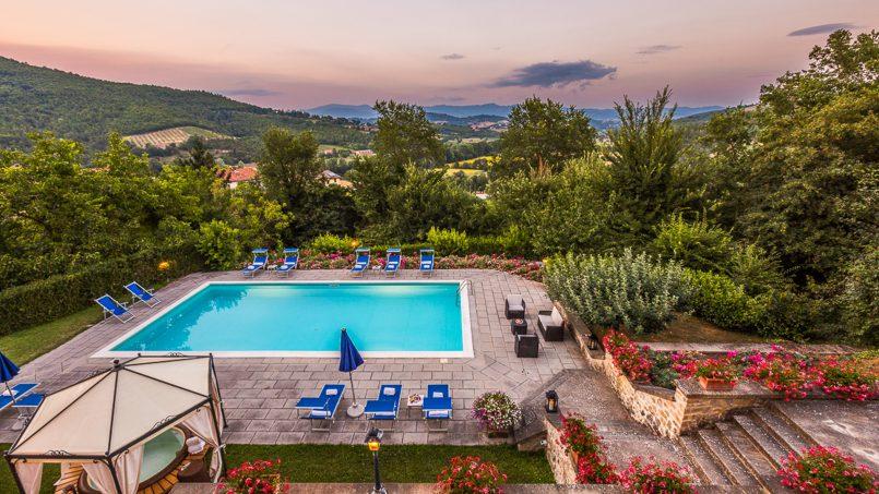 Tuscan luxury Villa Cerfone Monterchi Arezzo 22