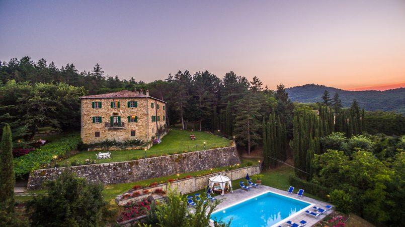 Tuscan luxury Villa Cerfone Monterchi Arezzo 25