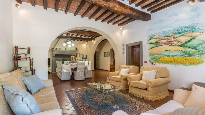 Tuscan luxury Villa Cerfone Monterchi Arezzo 26