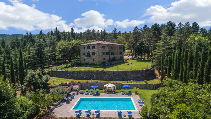 Tuscan luxury Villa Cerfone Monterchi Arezzo 3