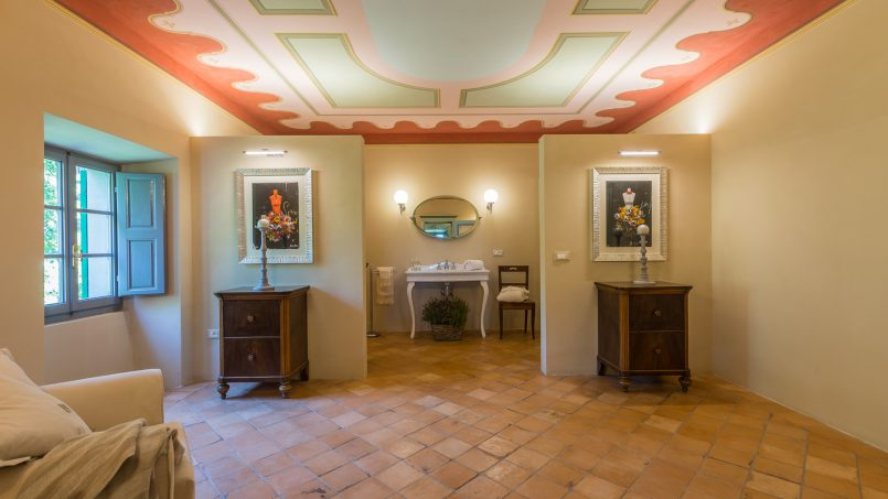 Tuscan luxury Villa Cerfone Monterchi Arezzo 43