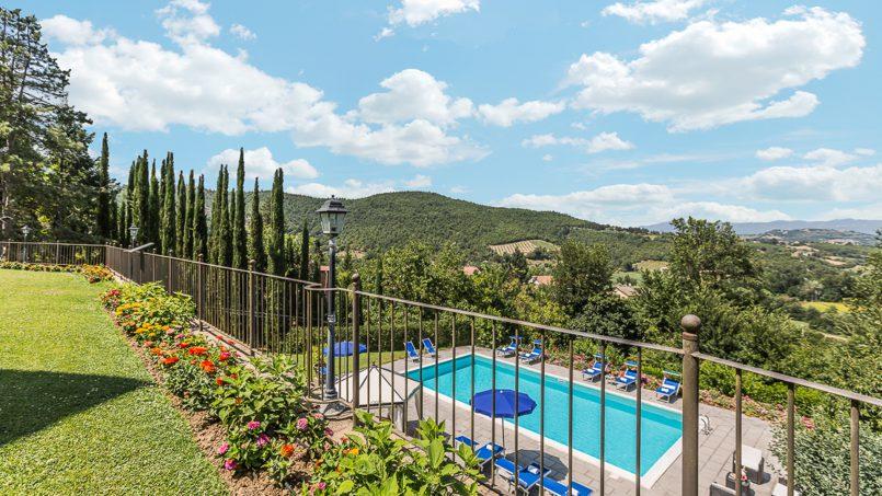 Tuscan luxury Villa Cerfone Monterchi Arezzo 7