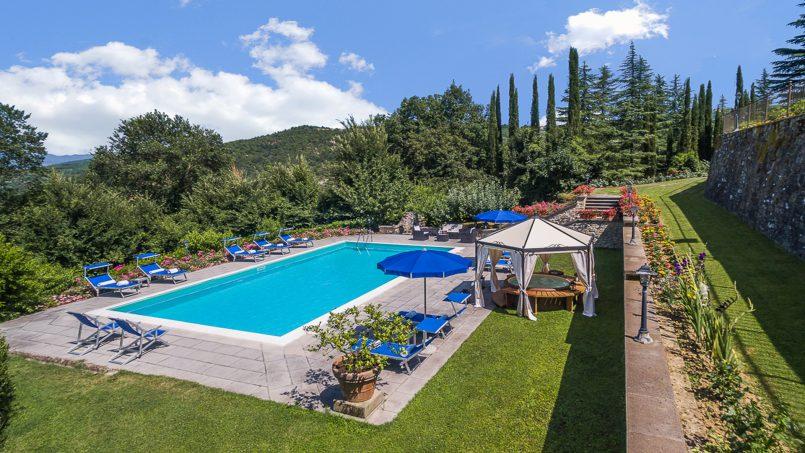 Tuscan luxury Villa Cerfone Monterchi Arezzo 8