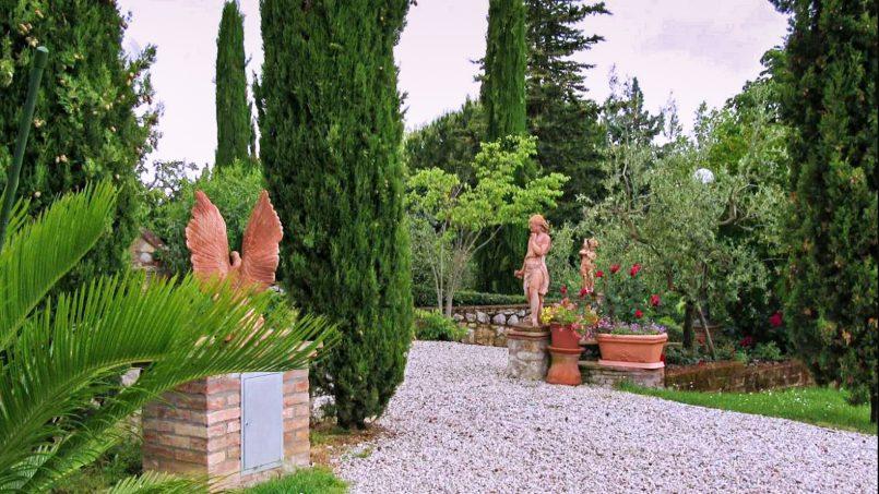 Detached farmhouse Villa Neva Tuscany Florence 1
